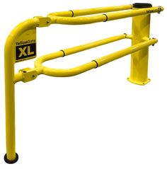 Ladder safety gate industrial safety swing gates pinterest industrial swing gate swinging safety gates adjustable safety gates from yellowgate comply to osha fall protection and are ansi yellow sciox Image collections