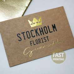 Letterpress business card hawkins limited pinterest foil business card reheart Image collections