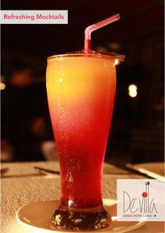 #Best #Refreshing #Mocktails   De' Villa Garden Restro Lounge  #surat