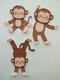 Pin by rebecca picton on baby ideas monkey crafts, monkey, foam crafts. Foam Crafts, Preschool Crafts, Diy And Crafts, Crafts For Kids, Paper Crafts, Monkey Crafts, Jungle Theme, Little Monkeys, Animal Crafts
