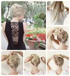 The 9 Most Flattering 5 Minutes Easy Messy Up-do For Daily Creation messy updo with human hair extensions tutorial Casual Hair Updos, Casual Wedding Hair, Formal Hair, Hair Extensions Tutorial, Human Hair Extensions, Pretty Hairstyles, Braided Hairstyles, Wedding Hairstyles, One Hair
