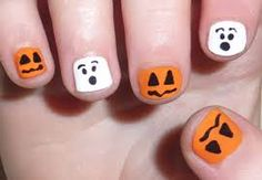nail designs for halloween - Google Search
