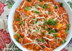 Roasted Butternut Squash and Tomato Risotto | Slimming Eats - Slimming World Recipes