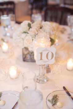 Elegant table number to match the decor | villasiena.cc