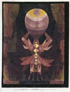 Paul Klee. Wild Berry 1921