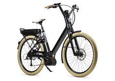 Moustache  Transport  Bike  Electric  Black Eco