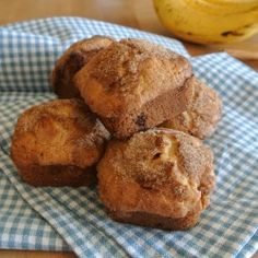Mini Snickerdoodle Banana Bread