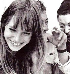 Currently channeling... Jane Birkin and Serge Gainsbourg.