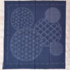 Sashiko Kit ready to stitch