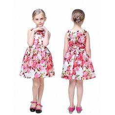 Bloemenjurk (2-7 jaar) Girls Dresses, Summer Dresses, Pink Girl, Girl Outfits, Clothes, Vintage, Style, Fashion, Dresses Of Girls