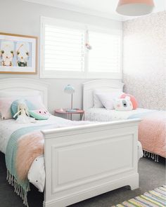 Big girl beds We have been talking about getting a big girl bed for our 3.5 year old. She is currently in a toddler bed but I think it's time we upgraded her to a king single. So my question is where did you get your kids beds from? Would love some recommendations on where to start looking. I'm thinking something similar to what's in this beautiful pic by @oh.eight.oh.nine for @designdevotee Thank you lovelies #girlsdecor #girlsroom #girlsroominspo #pastelroom #etsykids #etsyau #etsyfinds…