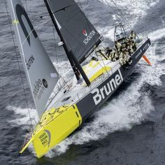 TEAM BRUNEL   Volvo Ocean Race 2014-2015. We saw all the yachts at the Viaduct Basin in Auckland before they departed. Amazing vessels and awesome crews.