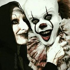 Valak and Pennywise