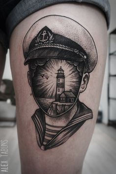 blackwork tattoo | Tumblr