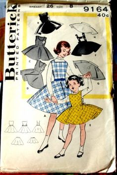 Butterick 9164 Vintage Pattern