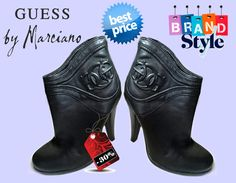 Botine Guess by Marciano originale noi Guess By Marciano, Fashion Branding, Cowboy Boots, Heels, Style, Heel, Swag, High Heel, Western Boot