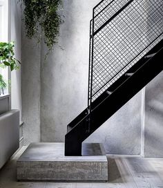 Staircase beauty a place I stumbled across on Pinterest via AMM Blog #steel…