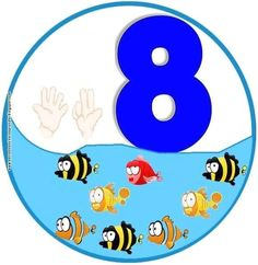 Number Flashcards, Flashcards For Kids, Math Numbers, Body Preschool, Preschool Classroom, Animated Numbers, Teachers Aide, Teaching Aids, Kids Learning Activities