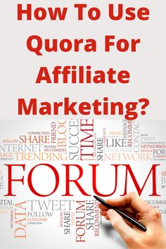 From my dealings with Quora its main function is a question and answer website where questions are asked, answered, and edited by other users in the shape of opinions. Users can participate by editing questions and suggesting edits the answers that have been introduced by other users. In this post we will learn how to use Quora for affiliate marketing leveraging. Being Used, Affiliate Marketing, Messages, Learning, Shape, Website, Studying, Teaching