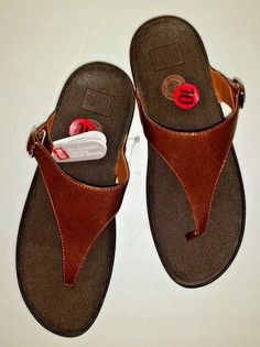 037cdaedba763 FITFLOP The Skinny Deluxe Platform Thong Sandals Slides Size 10 US Bronze  New  FitFlop