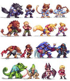 Breath Of Fire, Final Fantasy Vi, Hyrule Warriors, Rpg Maker, Gamers, Movie Wallpapers, Pixel Art, Bowser, Concept Art