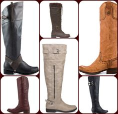 Trend Alert: Riding Boots  Channel equestrian chic with any of our beautiful riding boots! We have a wide selection of quality leather styles in all kinds of colors. Your favorite Heels.com brands like Vince Camuto, Frye, Guess and more bring you lavish silhouettes graced by buckles and zippers. You'll look and feel like an experienced rider in one of these stylish boots-- find your favorite look and giddy up to high fashion!