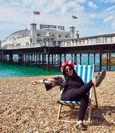 8 Brilliant Things to Do in One Day in Brighton - The Perfect Brighton Day Trip! 1 Visit Brighton, Brighton Rock, Brighton England, Back In Time, Back In The Day, Stuff To Do, Things To Do, British Summer, Indian Architecture