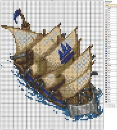Battleship by *Makibird-Stitching on deviantART
