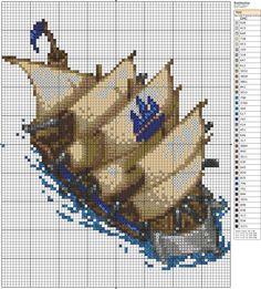 Battleship by *Makibird-Stitching on deviantART