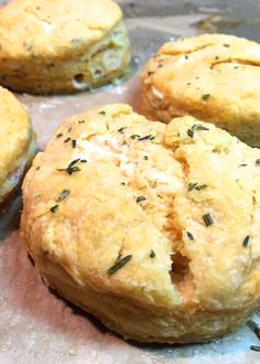 Recipe for thyme & rosemary sweet potato biscuits. This post also ...