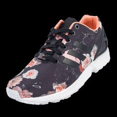 adidas Originals ZX Flux Women's Running Shoes Utility Grey