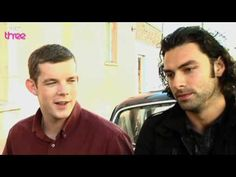 Aidan and Russell video Humans Series, Russell Tovey, Being Human Uk, Bbc Three, George Sand, Aidan Turner, Poldark, Smell Good, Vampires