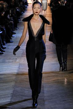 YSL Fall/Winter 2012/2013  Plunging