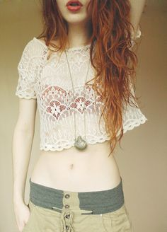 I have a similar top and bra. I need the pants and the necklace. -B