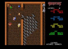 100 Best Video Games of All Time - The Greatest Video Games Ever Made -Gauntlet 1985