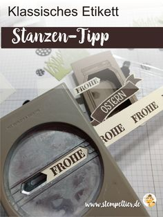 stampin up blog klassisches etikett classic label punch tipp anleitung stempeltier