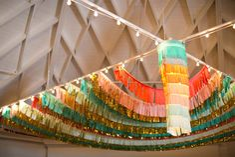 Bright Ceiling Fringe
