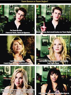 but i agree with Kat The Vampire Diaries 3, Vampire Diaries Quotes, Vampire Diaries The Originals, Cw The Originals, Vampire Dairies, Delena, American Horror Story, Vampires, True Stories