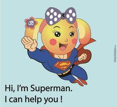 Miss La Sen superman