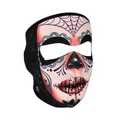 See price  Zan Headgear WNFL091, Full Mask, Neoprene, Super Warm Fleece Lined, Sugar Skull for  Halloween Gifts Idea Promotions for  #Halloween Gifts Idea Shopping