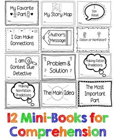 These 12 mini-books cover most of the DRA skills targeted in K-2 :) Great for guided reading or whole group!
