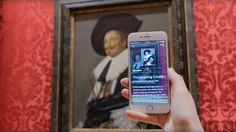 Una aplicación usa el móvil para detectar obras artísticas y pinturas y proporciona información sobre ellas