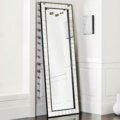 Perfect This Antique Tiled Wall Mirror As Well As This Antique Tiled Floor Mirror  From West Elm Would Provide Such A Neat Touch To A Living Room, Dining Room Design Ideas