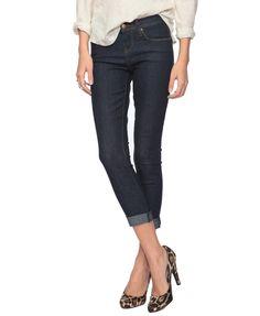 denim stretch capri jeans $11 forever21.com - love those shoes too!