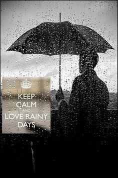 i love rainy days!!
