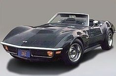 1971 Chevrolet Corvette Stingray ZR-1