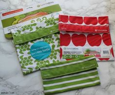 LunchSkins- A new way to pack your lunch and help save the planet! - WEMAKE7