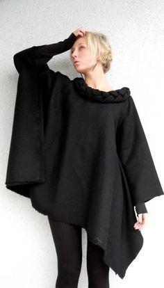 Ein Poncho gehört in jeden Kleiderschrank ab Herbst - www.image50plus.de  Image and video hosting by TinyPic