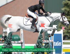 Reed Kessler (USA) and Onisha, 2012 Nationals #ReedKessler