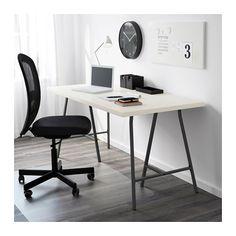 LINNMON Tischplatte - weiß - IKEA